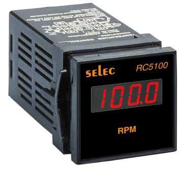 Thiết bị hiển thị tốc độ Selec RC5100 (48 x 48)
