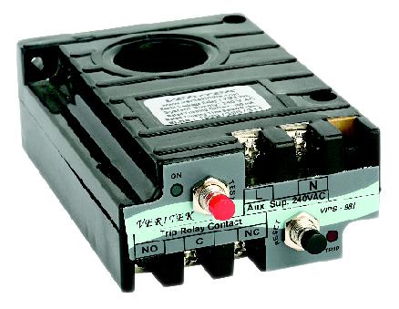 Relay bảo vệ dòng rò và chạm đất loại lắp đặt panel trên VIPS-98I