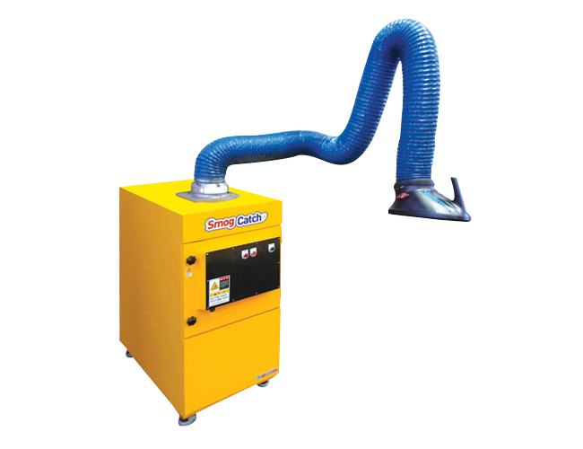 Fume dust collector (electric dust collection method)