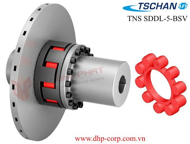 Khớp nối cao su giảm chấn TSCHAN TNS SDDL-5-BSV