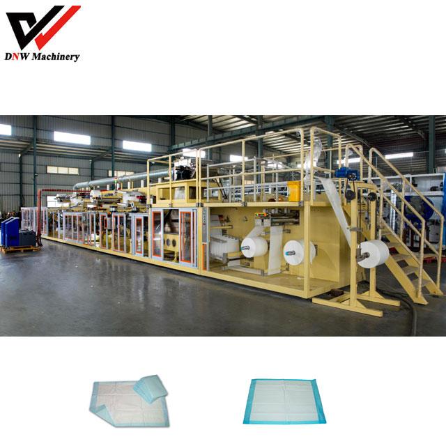 Disposable Mattress Under Pad Making Machine
