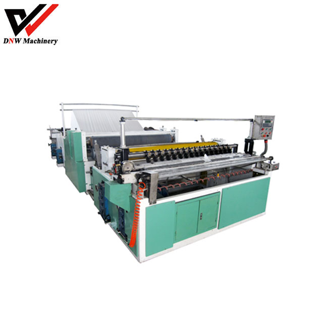 Full Automatic Trimming, Sealing, Embossing, Perforating Rewinder