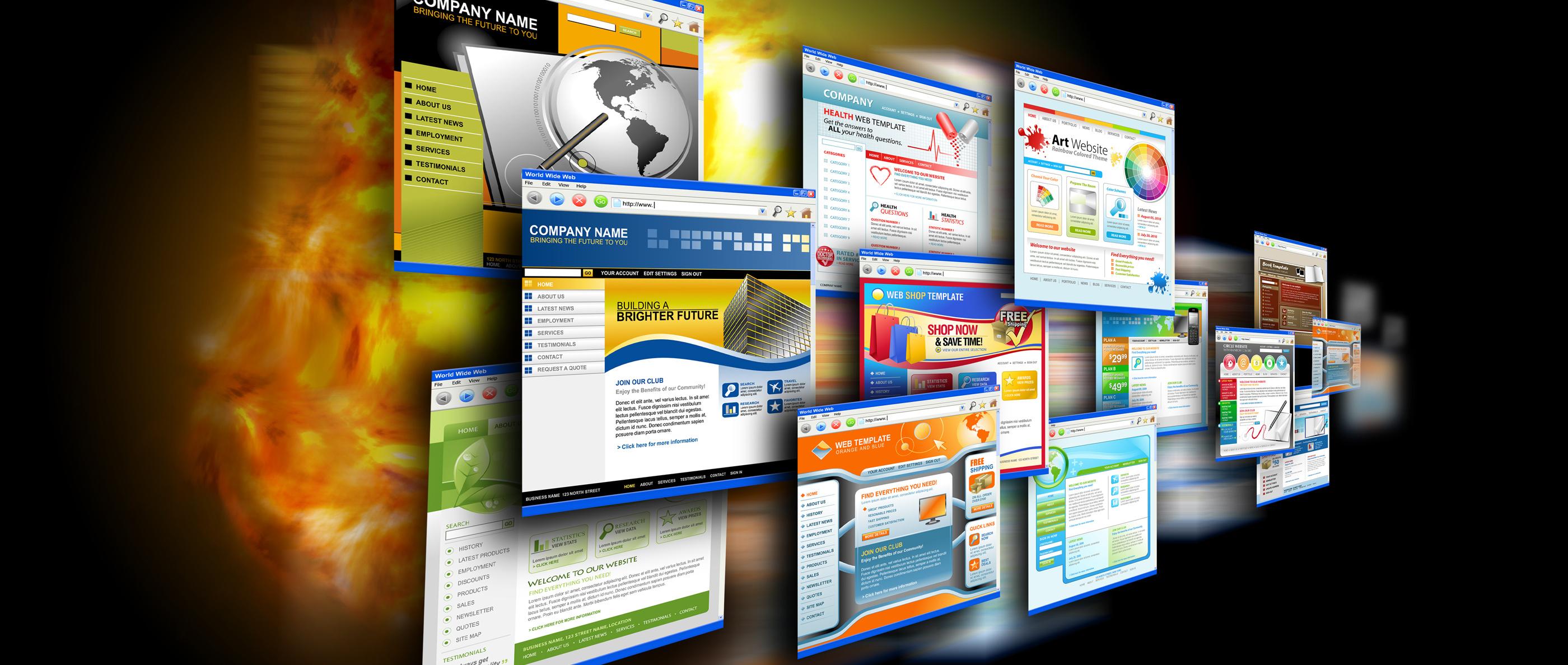 Cho thuê Website, thiết kế Website