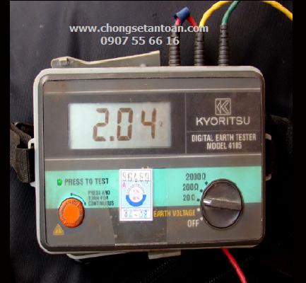 Dịch vụ đo kiểm hệ thống tiếp địa chống sét
