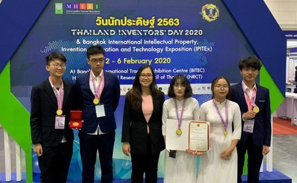 Việt Nam nhất toàn đoàn tại Cuộc thi quốc tế về sở hữu trí tuệ, sáng chế, đổi mới và công nghệ (IPITEx 2020)