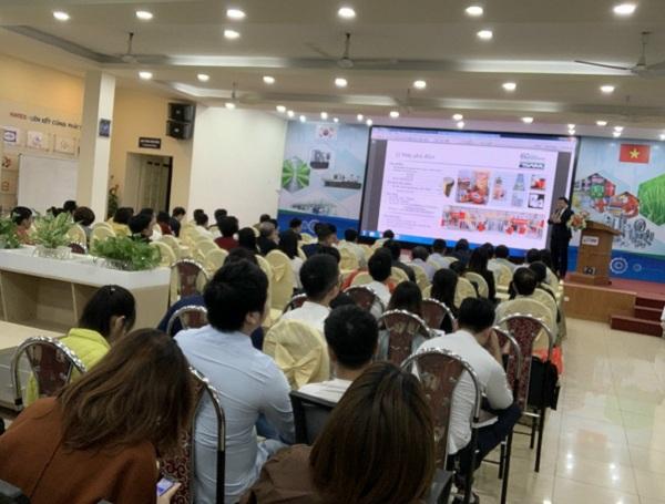 Nhiều doanh nghiệp tham gia phiên kết nối cung cầu công nghệ Việt Nam- Hàn Quốc