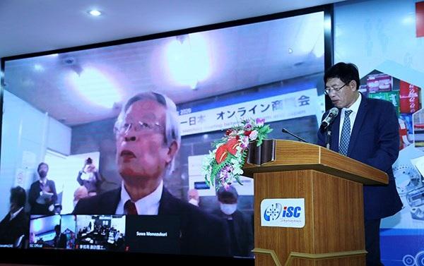 Nhiều doanh nghiệp tham gia phiên kết nối cung cầu công nghệ, thiết bị trực tuyến Việt Nam - Nhật Bản