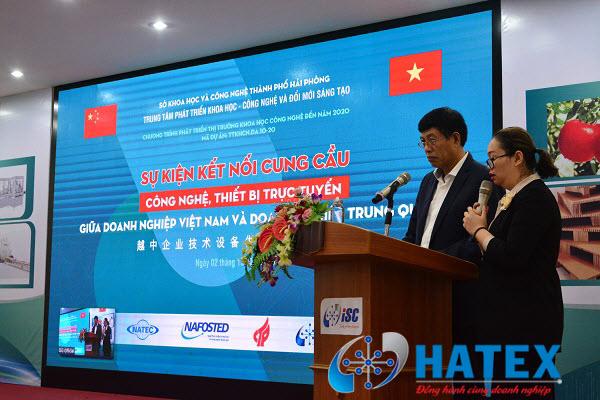 Nhiều doanh nghiệp tham gia kết nối cung cầu công nghệ, thiết bị trực tuyến giữa doanh nghiệp Việt Nam và doanh nghiệp Trung Quốc