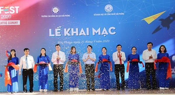 Khai mạc Ngày hội Khởi nghiệp sáng tạo Hải Phòng lần thứ 4- Techfest Haiphong 2020