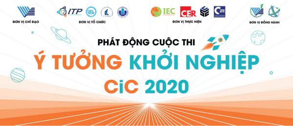 Khởi động Cuộc thi Ý tưởng khởi nghiệp Creative Idea Contest- CiC 2020