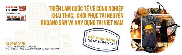 Triển lãm Mining & Construction Vietnam 2020