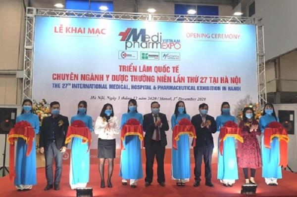 Hơn 70 gian hàng tham gia Triển lãm Quốc tế chuyên Ngành Y Dược Việt Nam lần thứ 27- Vietnam Medi Pharm Expo 2020