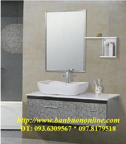 Lavabo tủ inox mã số DH-0980