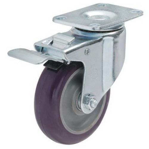 Bánh xe PU tải trọng trung bình (82-122kg)