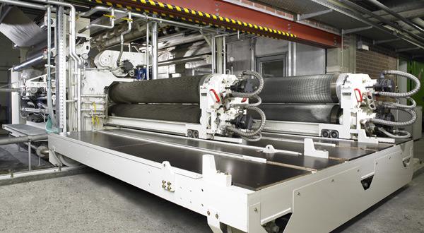 Máy tạo sóng cho dây chuyền sản xuất giấy bao bì carton 3, 5, 7 lớp