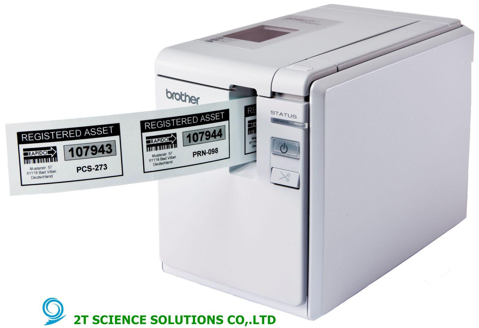 Máy in tem nhãn, in mã vạch PT- 9700PC