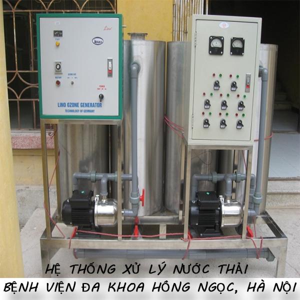 Cung cấp thiết bị xử lý nước thải bệnh viện