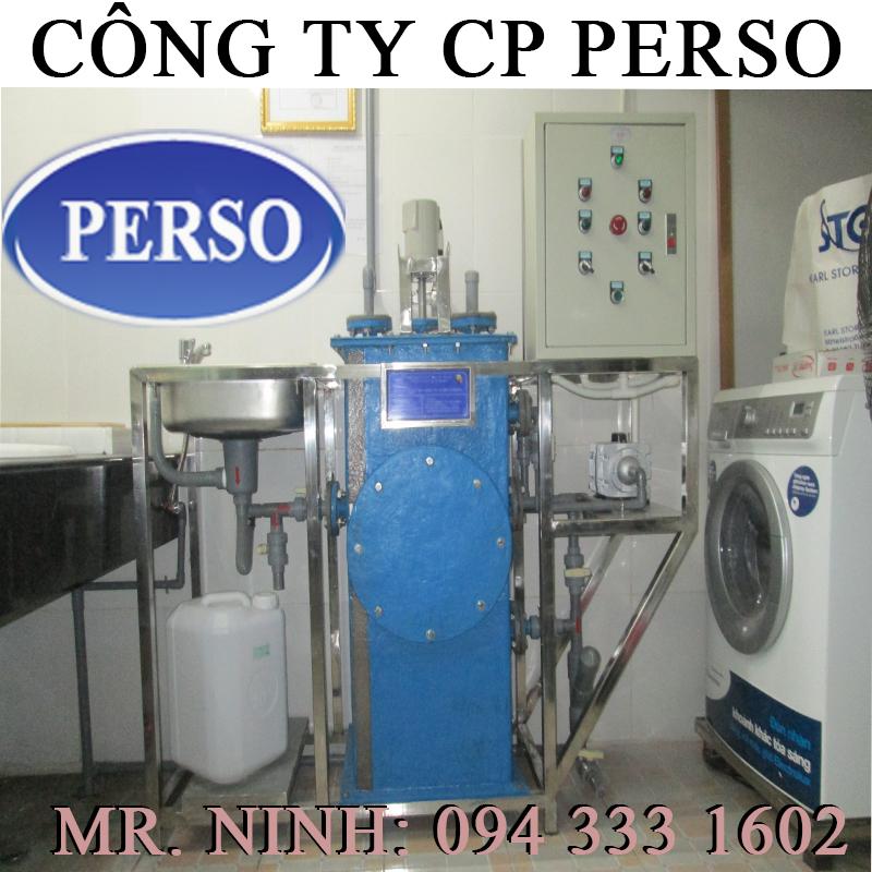 Thiết bị xử lý nước thải phòng khám mini
