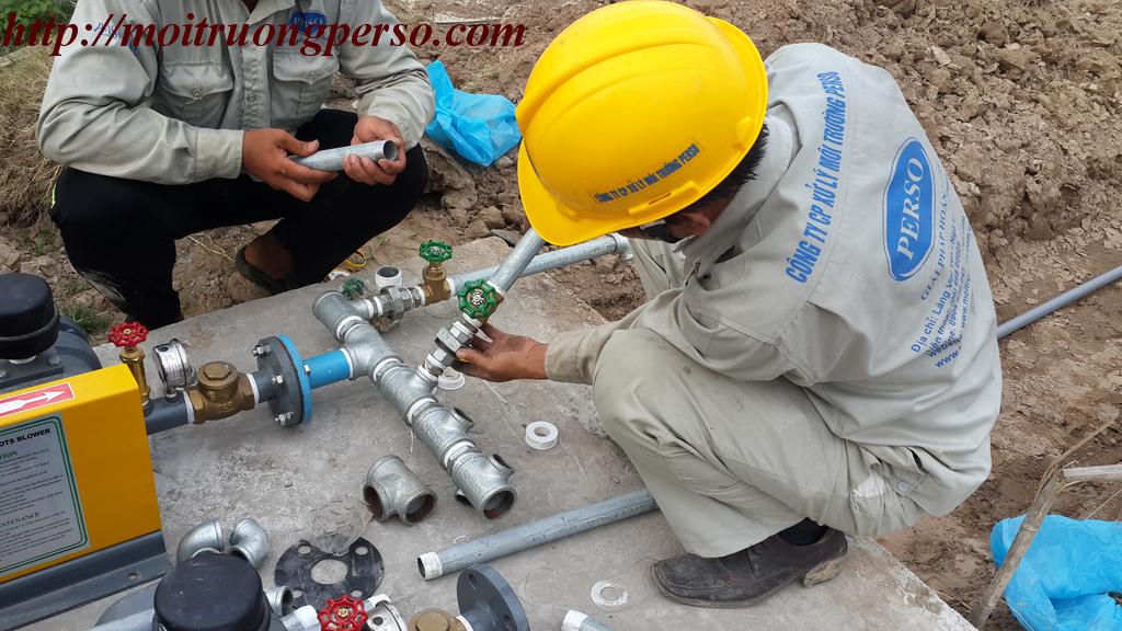 Dịch vụ bảo trì hệ thống xử lý nước thải sinh hoạt