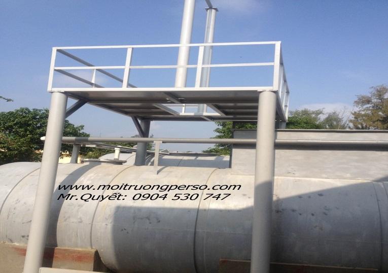 Hình ảnh thực tế một số công trình xử lý nước thải bệnh viện đã được PERSO thi công và bàn giao