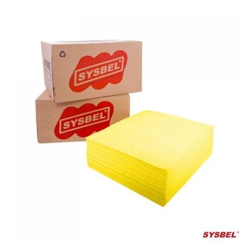 Tấm/ giấy thấm hóa chất trong phòng thí nghiệm - Absorbent pad (Chemical Only)