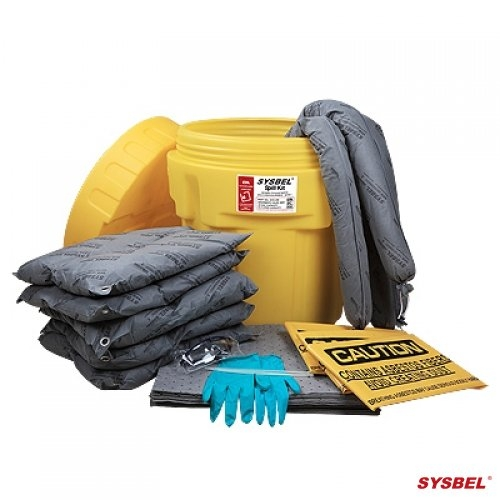 Bộ Kits ứng cứu sự cố tràn dầu, hóa chất - 20Gal -Drum Overpack Spill Kits (Universal)