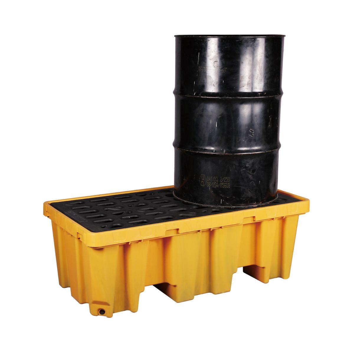 Pallet tràn dầu 2 vị trí giá rẻ