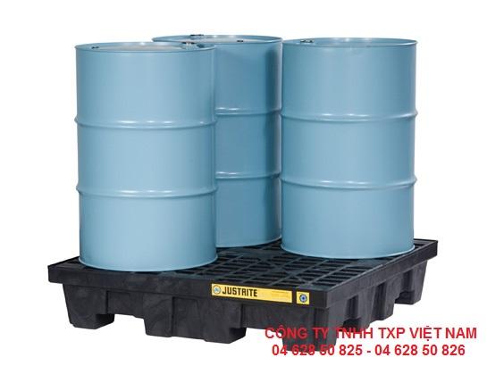 Pallet tràn dầu 28635 Justrite, Mỹ