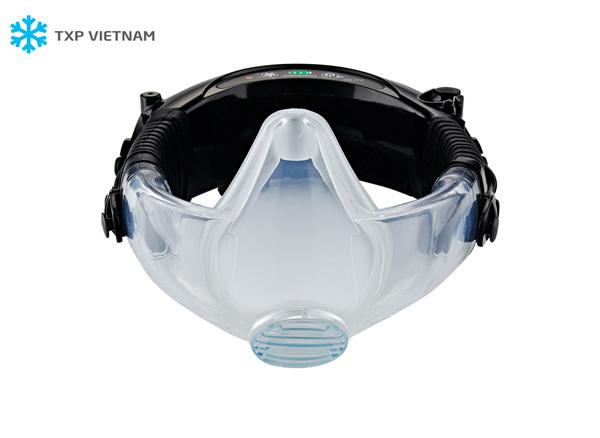 Máy lọc không khí trợ thở kèm mặt nạ phòng độc