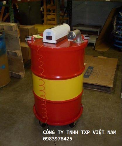 Máy hút chân không thu dầu thải, các chất dễ cháy