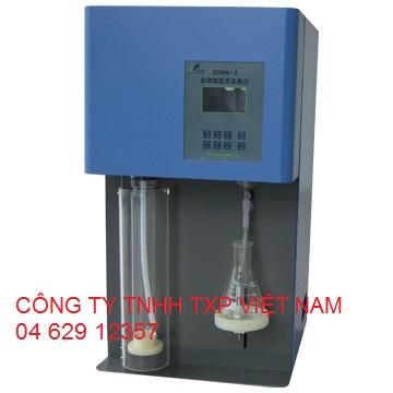 Máy xác định hàm lượng Nitơ theo phương pháp Kjeldahl Trung Quốc ZDDN-II