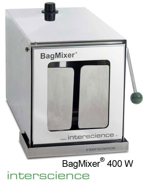 BagMixer 400W - Máy dập mẫu vi sinh cửa kính (INTERSCIENCE)