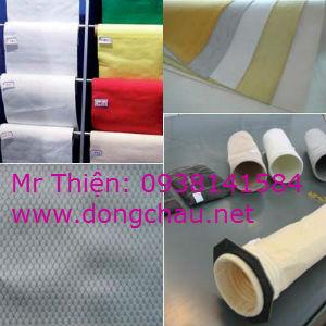 Vải lọc bã, vải ép bùn chất liệu KS2 Hàn Quốc
