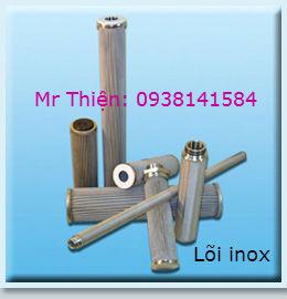 Bán lõi lọc inox 316 của Singapore, lõi lọc tinh inox 304