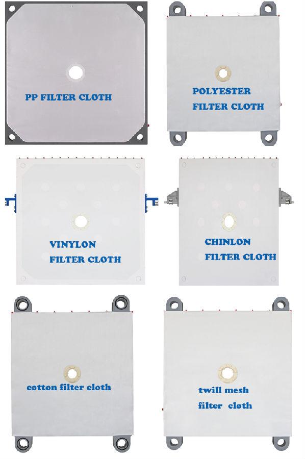Vải lọc ép khung bản PP - pollypropylene