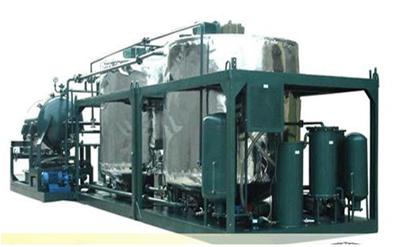 Công nghệ và dây chuyền tái chế dầu thải công suất 1000L/H