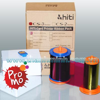 Máy in thẻ khám bệnh Hiti CS310/ Máy in thẻ nhập khẩu chính hãng/ Ruy băng máy