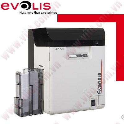 Máy in thẻ nhựa Retransfer Evolis AVANSIA