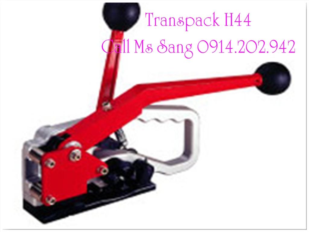 Dụng cụ đóng đai nhựa 3 trong 1 dùng tay Transpak H44