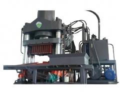 Máy gạch không nung công nghệ ép tĩnh thủy lực DET-1000