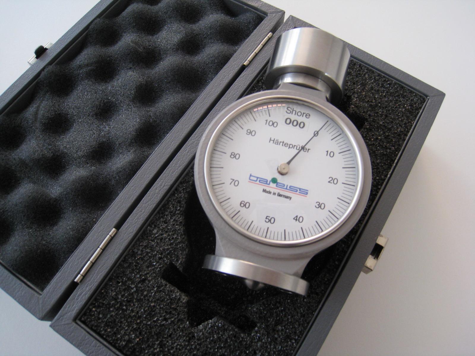 Đồng hồ đo độ cứng Shore 000S cho cao su bọt, xốp, silicone...