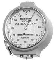 Máy đo độ cứng Shore D cho nhựa & cao su cứng hiển thị đồng hồ