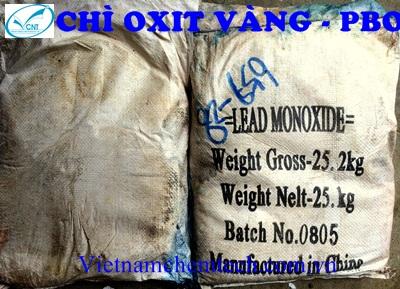 Chì oxit - PbO - TQ - CN - 25kg