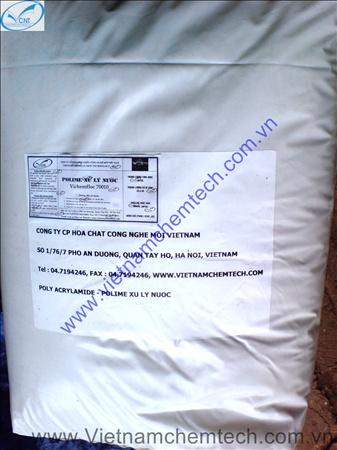 Vichemfloc 70010 - Nonion trợ keo tụ cho xử lý nước sinh hoạt