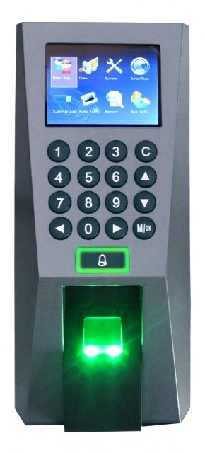 Máy kiểm soát cửa bằng vân tay và thẻ Ronald Jack F18