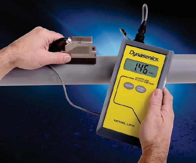 Máy siêu âm đo lưu lượng nước, nước thải, bia, dầu, nước mía, nước làm mát, bùn... model DUFX1D1