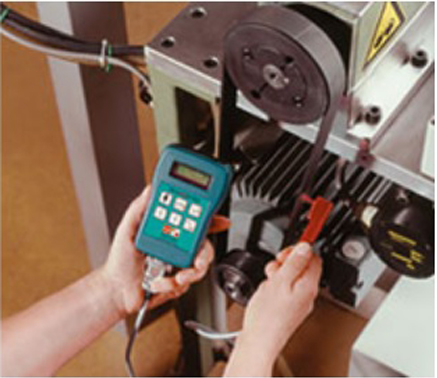 Máy đo lực căng đai thang, đo lực căng đai truyền động model RTM 400