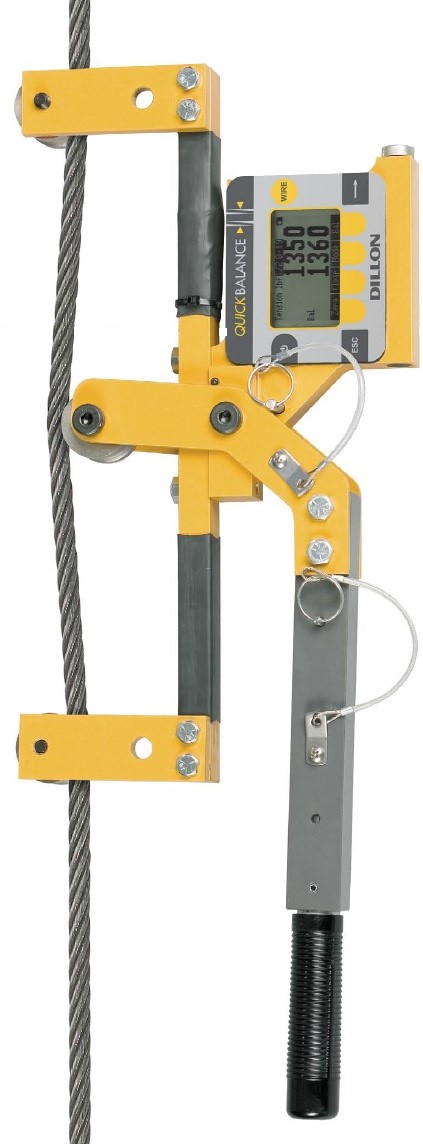 Máy đo lực căng cáp thép trạm BTS model Quick Balance
