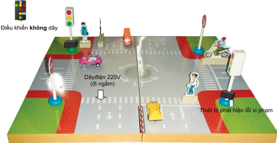 Hệ thiết bị hướng dẫn giao thông thông minh mầm non