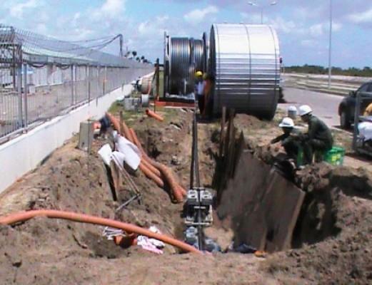 Xây dựng và lắp đặt đường cáp ngầm 110kV
